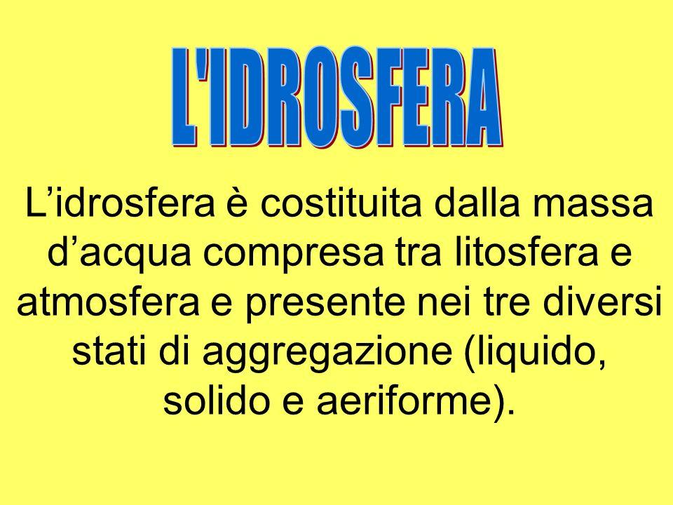 L IDROSFERA