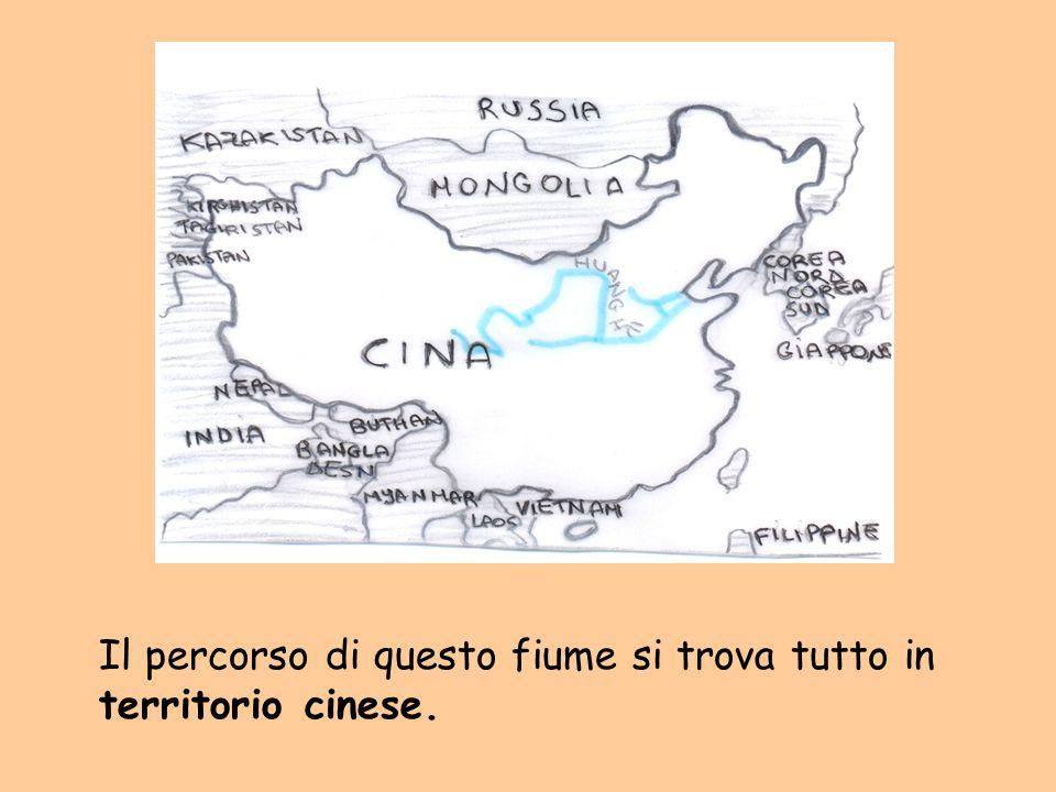 Il percorso di questo fiume si trova tutto in territorio cinese.