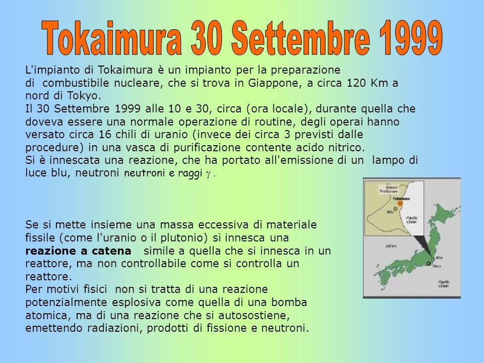 Tokaimura 30 Settembre 1999