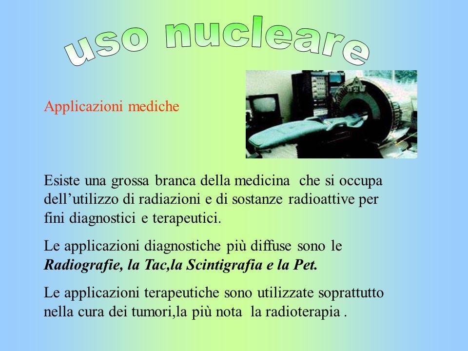 uso nucleare Applicazioni mediche