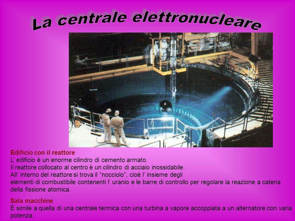 La centrale elettronucleare