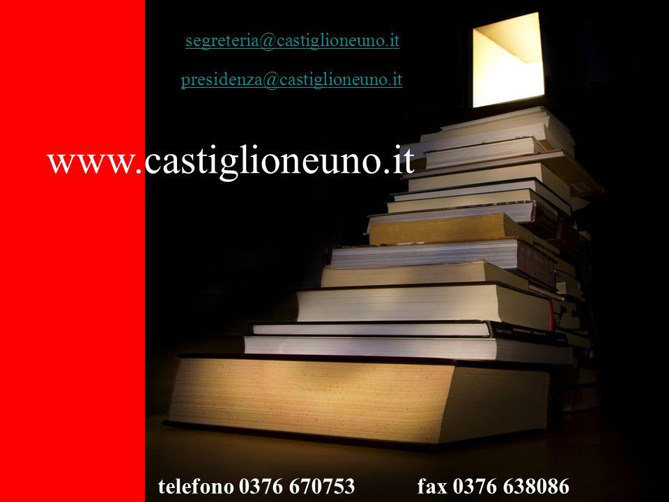 www.castiglioneuno.it telefono 0376 670753 fax 0376 638086