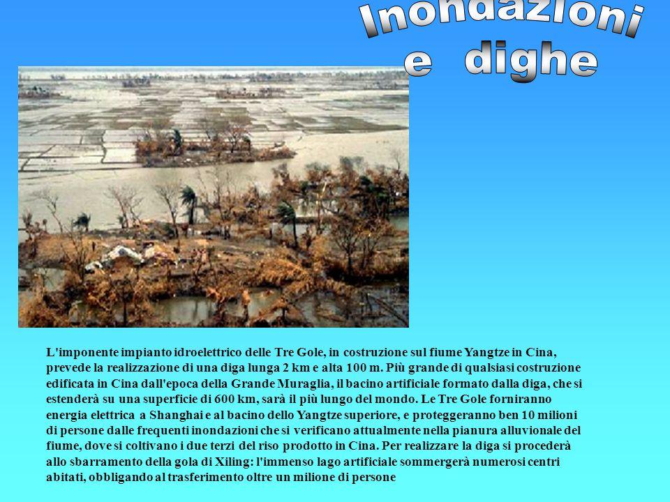 Inondazioni e dighe.