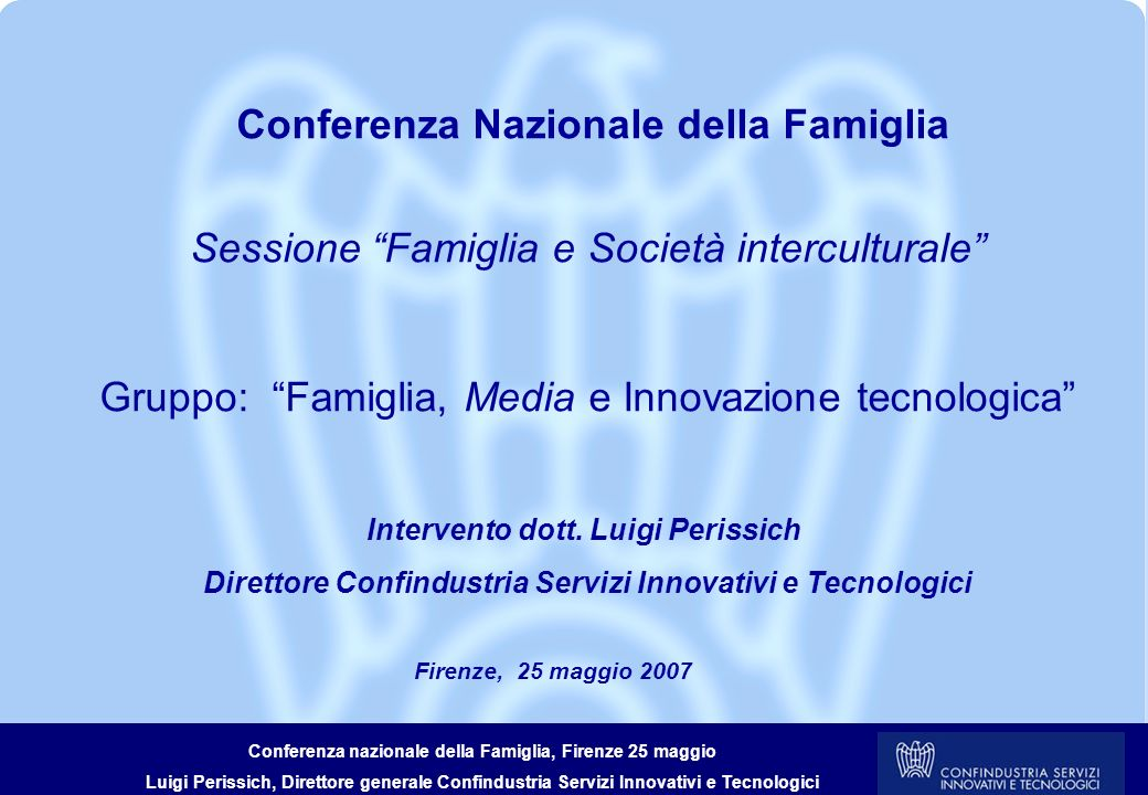 Conferenza Nazionale della Famiglia