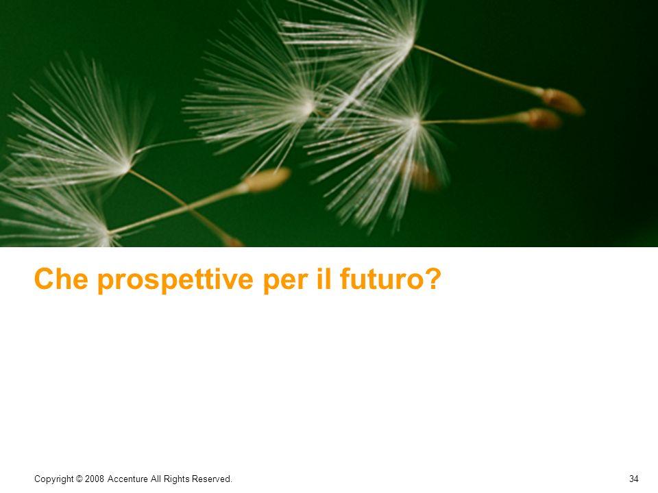 Che prospettive per il futuro
