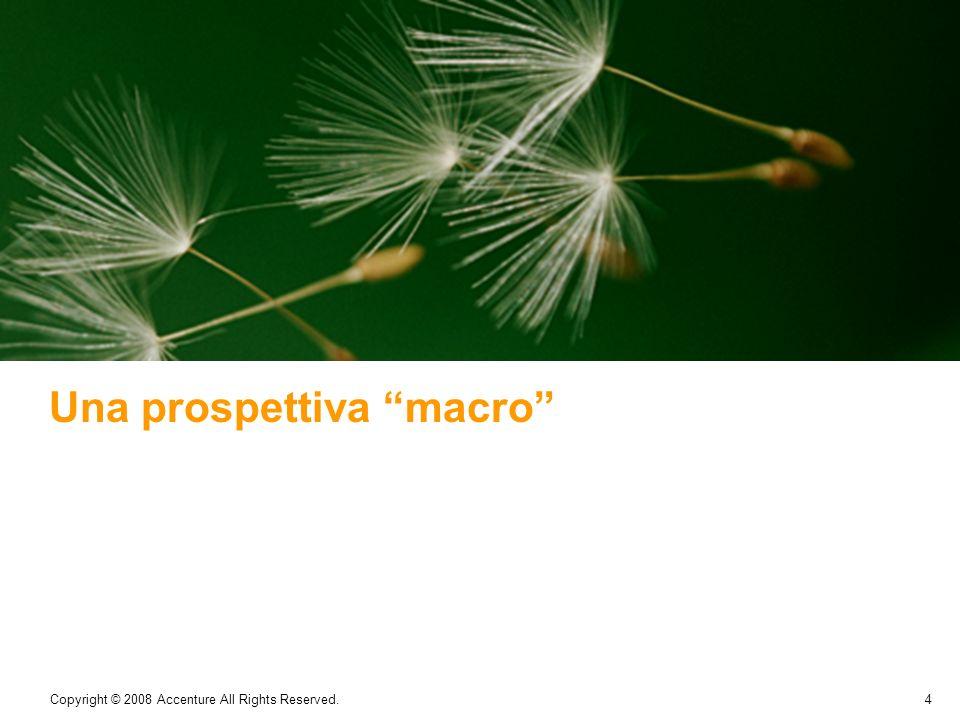 Una prospettiva macro