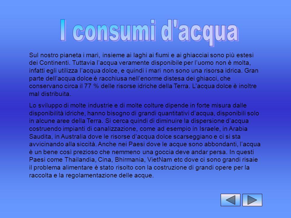 Geografia italiano i grandi fiumi della terra ppt - Portano acqua ai fiumi ...