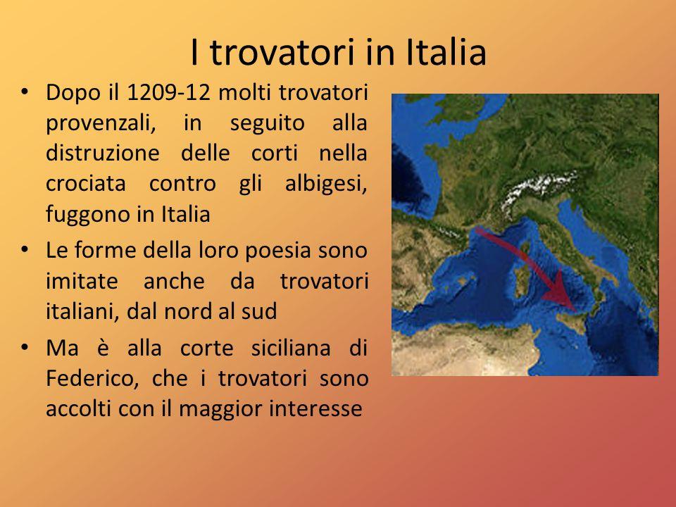 I trovatori in Italia