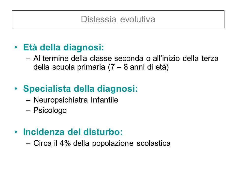 Specialista della diagnosi: