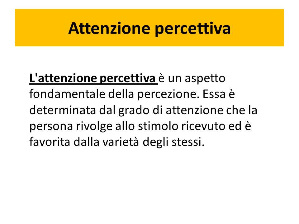 Attenzione percettiva