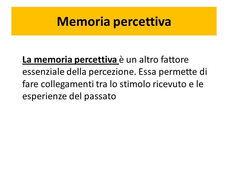 Memoria percettiva