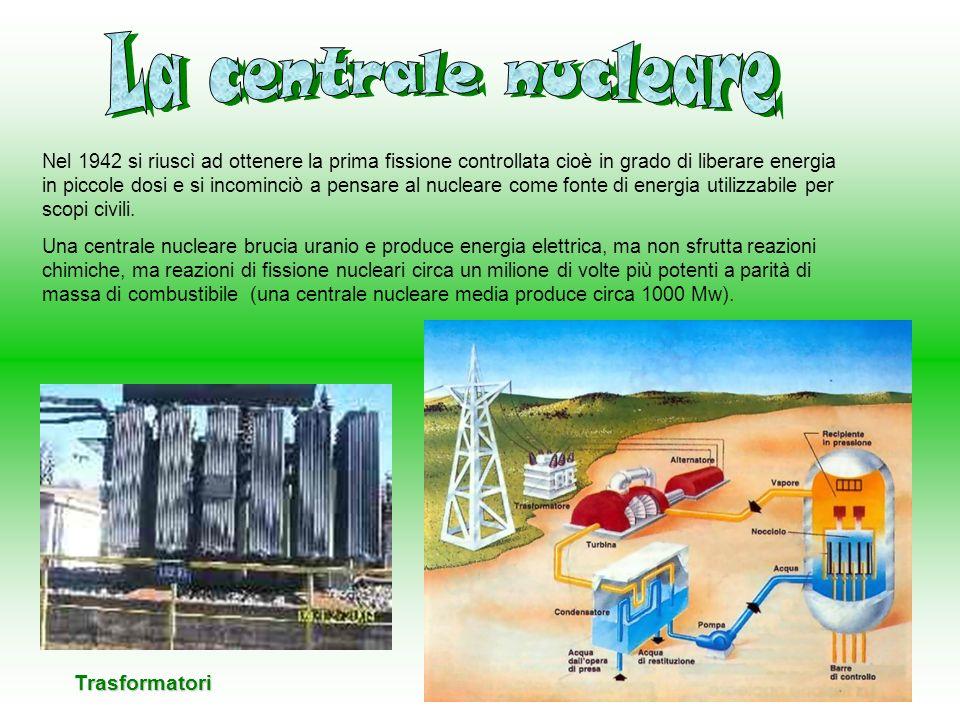 La centrale nucleare Trasformatori