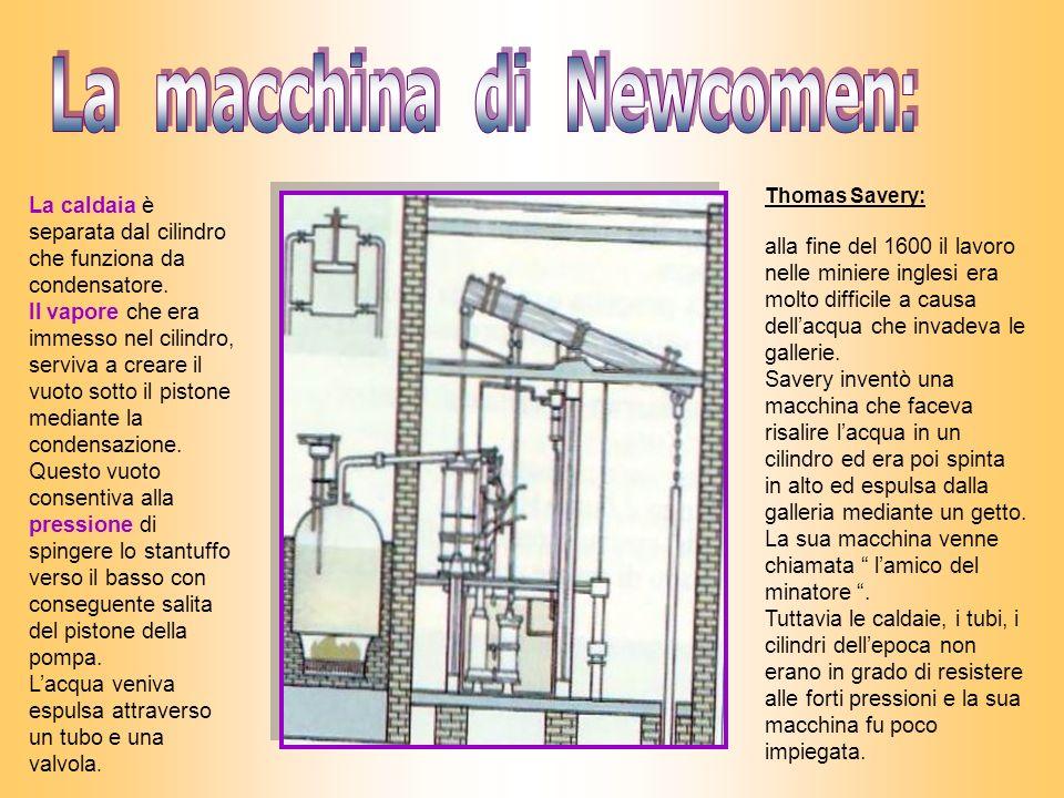 La macchina di Newcomen: