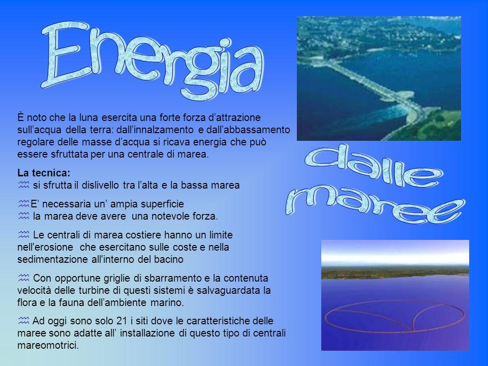 Energia dalle. maree.