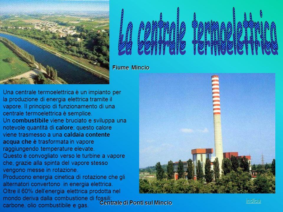 La centrale termoelettrica