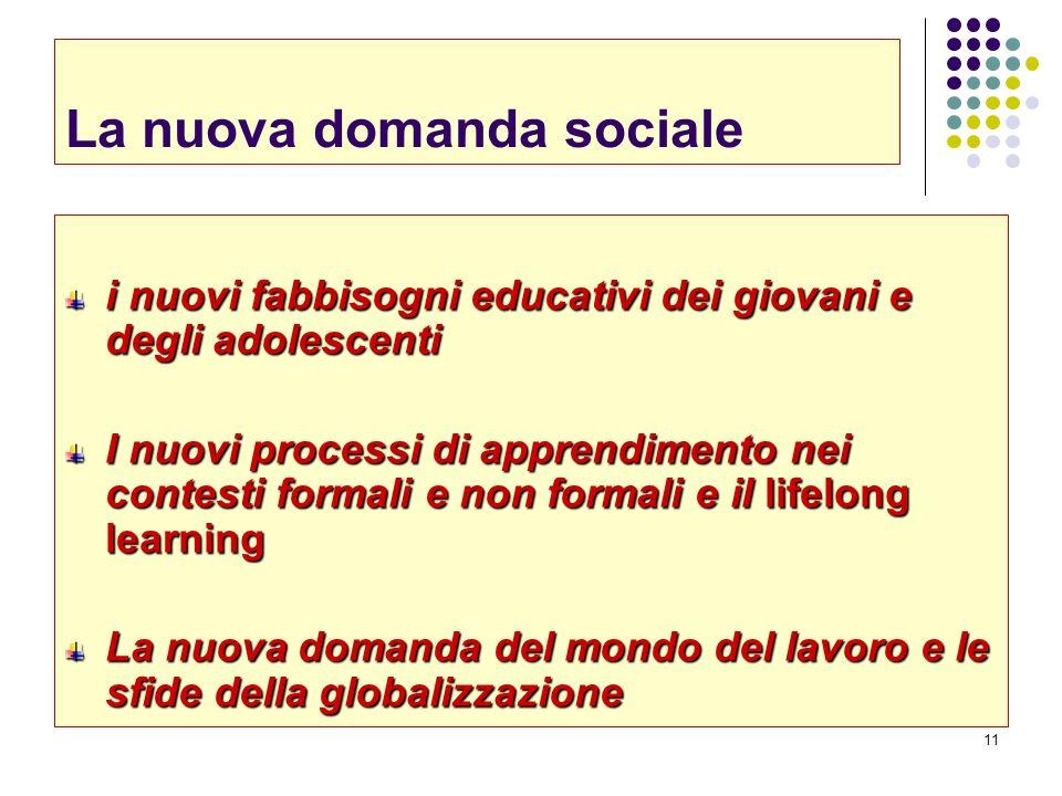 La nuova domanda sociale