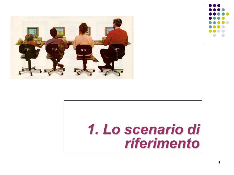1. Lo scenario di riferimento