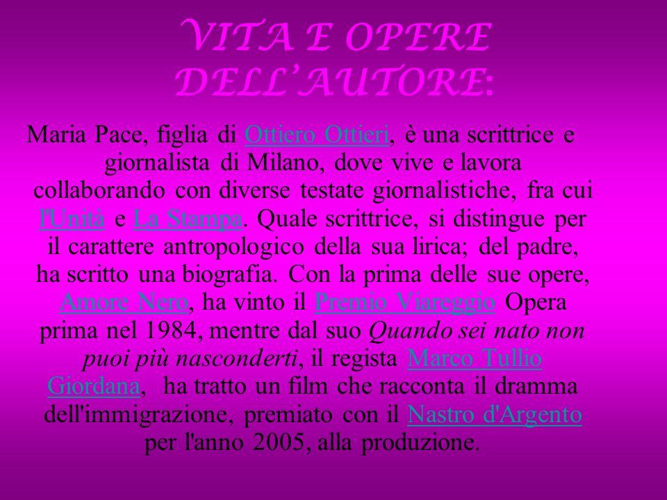 VITA E OPERE DELL'AUTORE: