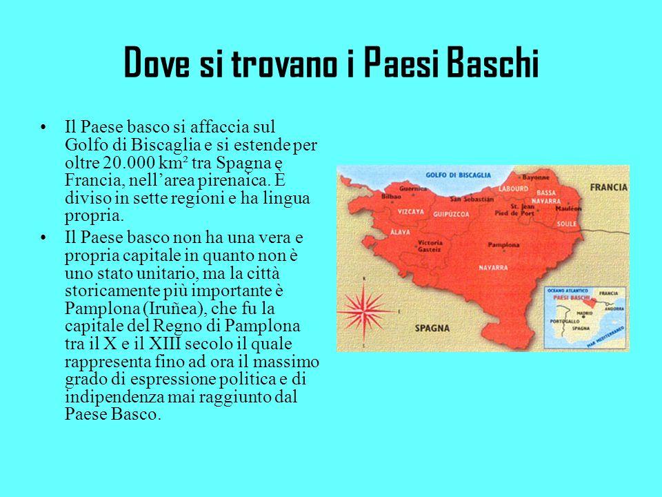 Dove si trovano i Paesi Baschi