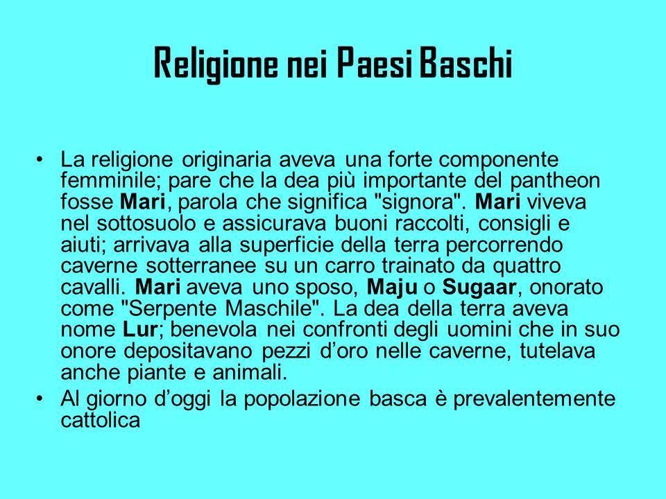 Religione nei Paesi Baschi