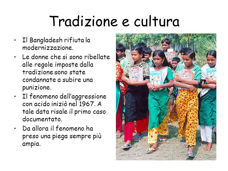 Tradizione e cultura Il Bangladesh rifiuta la modernizzazione.