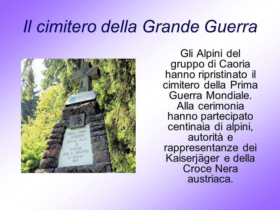 Il cimitero della Grande Guerra