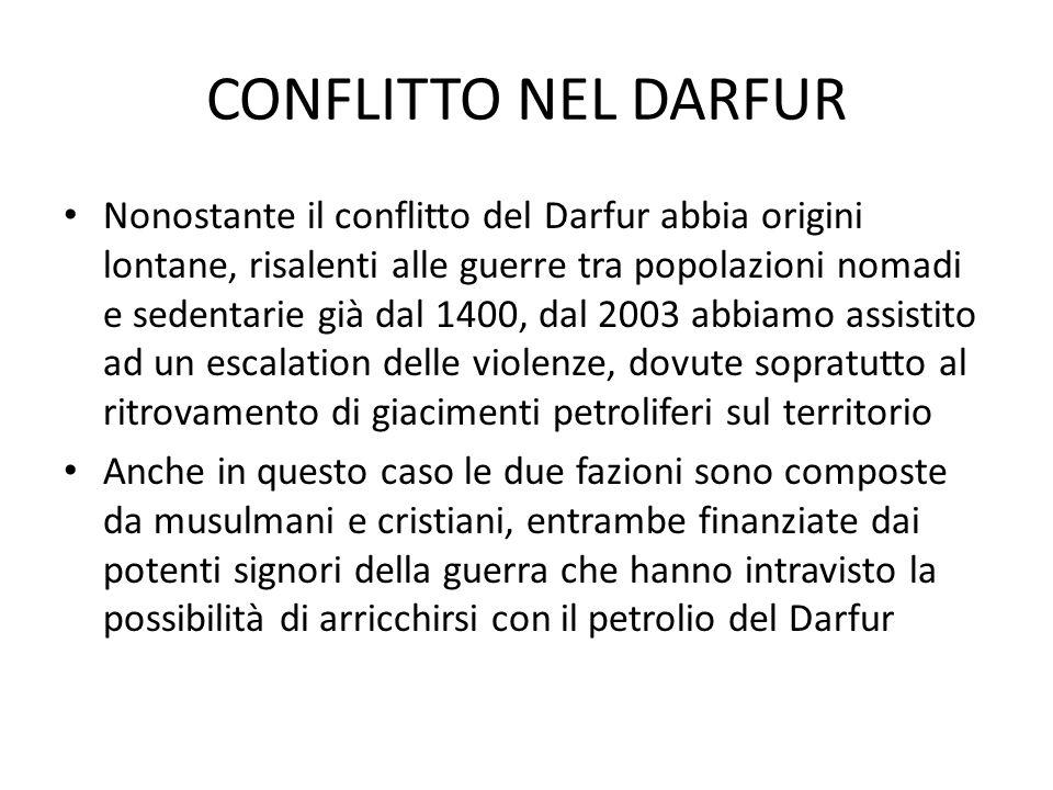 CONFLITTO NEL DARFUR