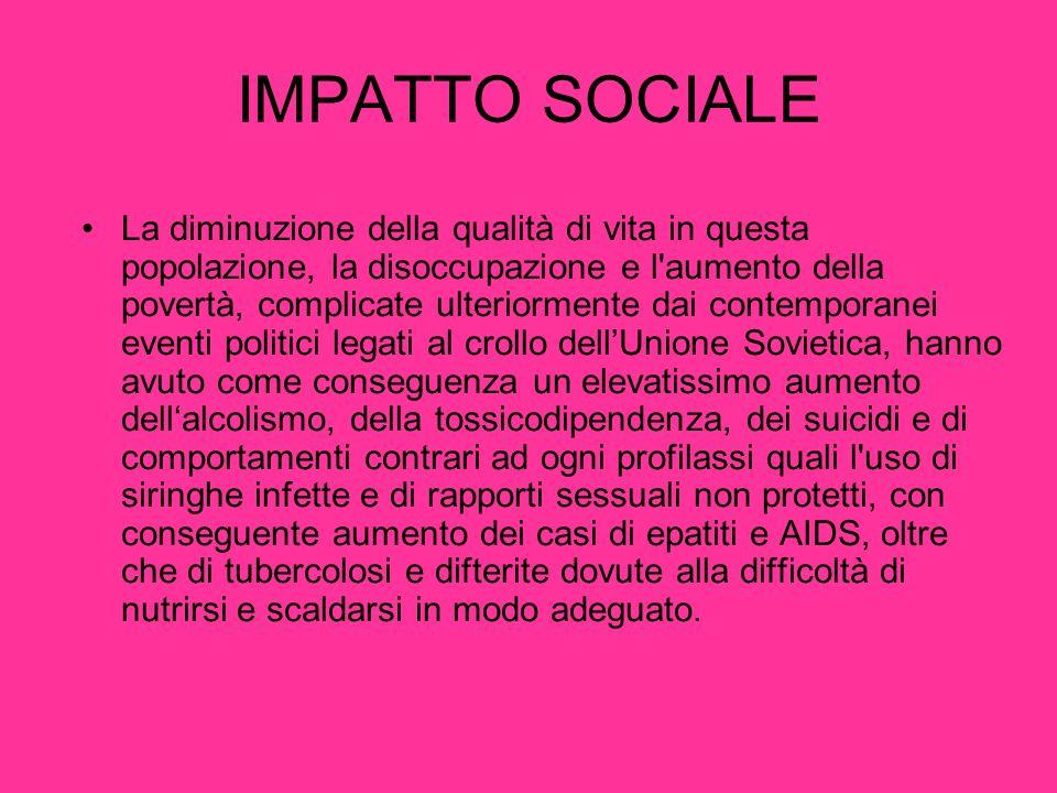 IMPATTO SOCIALE