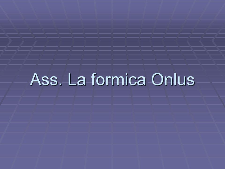 Ass. La formica Onlus