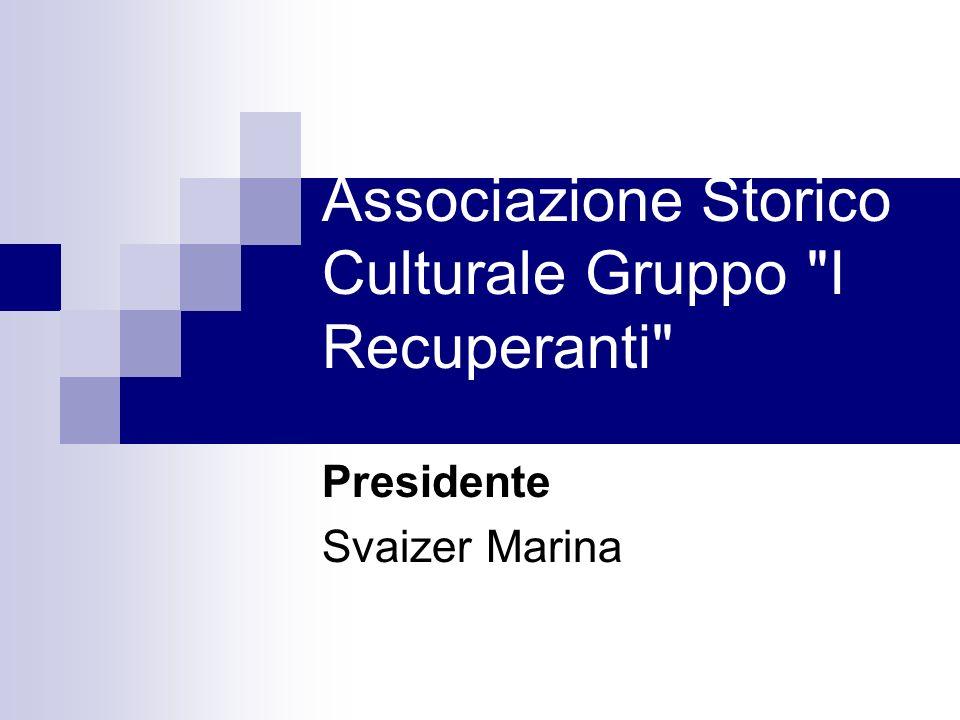 Associazione Storico Culturale Gruppo I Recuperanti