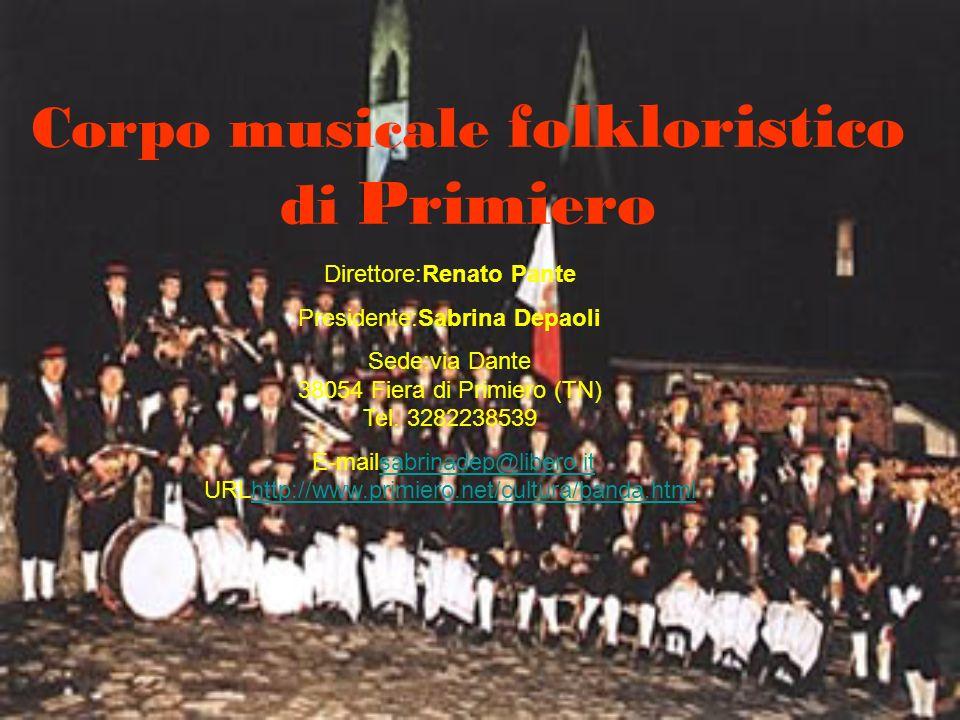Corpo musicale folkloristico di Primiero