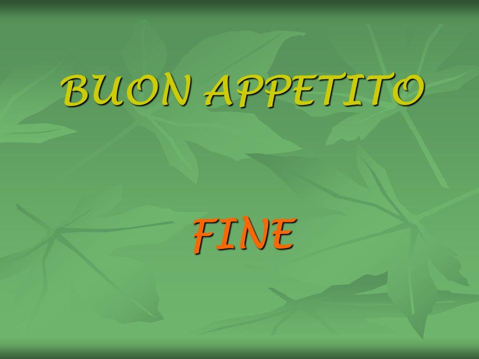 BUON APPETITO FINE