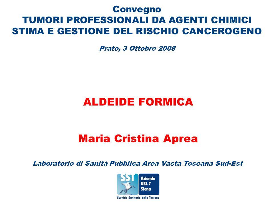 ALDEIDE FORMICA Maria Cristina Aprea