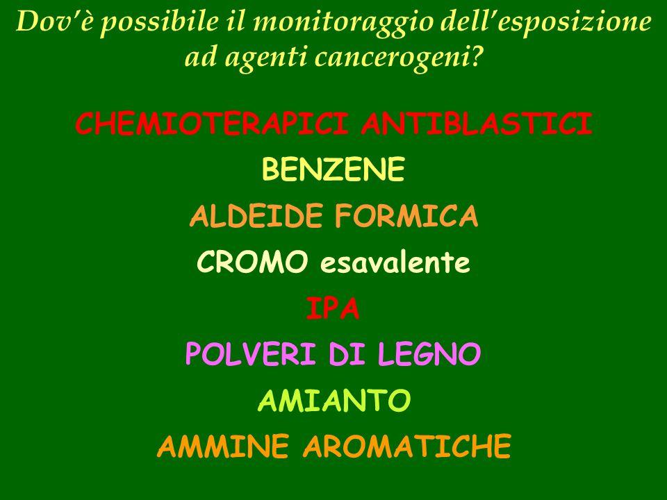 CHEMIOTERAPICI ANTIBLASTICI