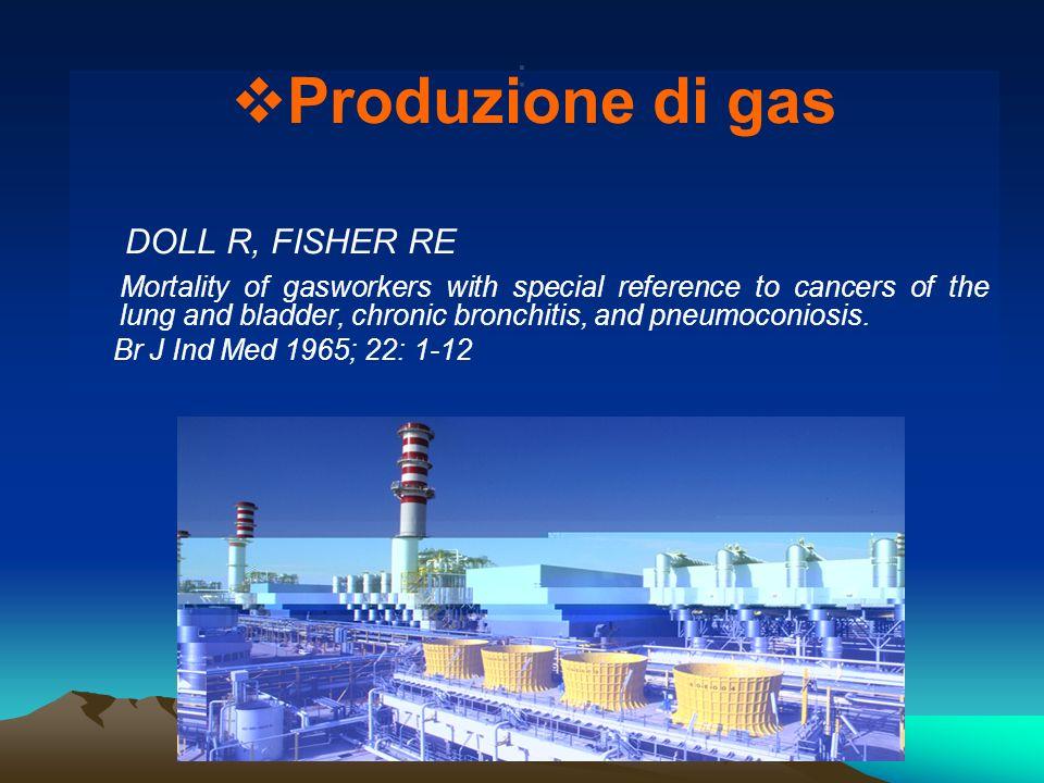 Produzione di gas : DOLL R, FISHER RE