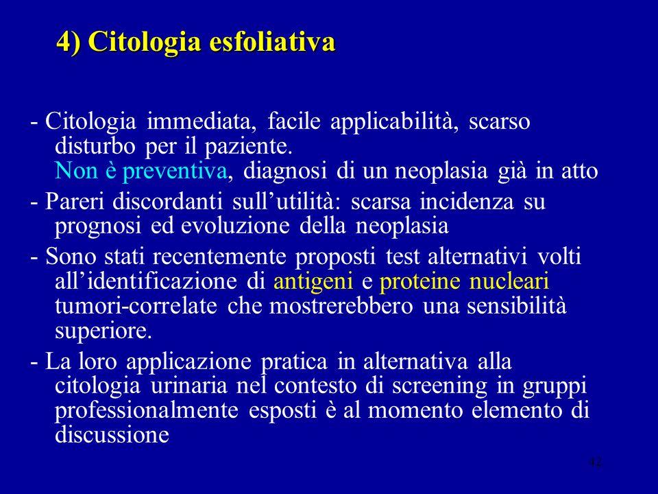 4) Citologia esfoliativa