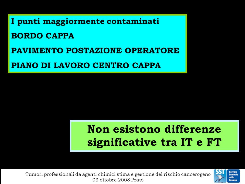 Non esistono differenze significative tra IT e FT