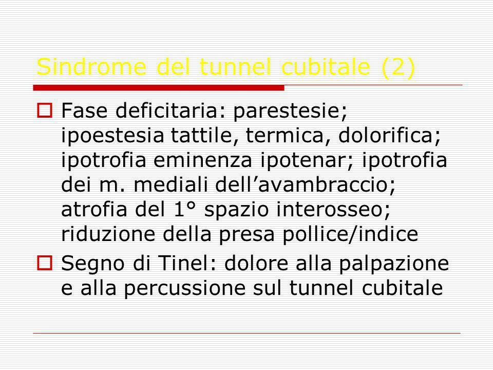Sindrome del tunnel cubitale (2)