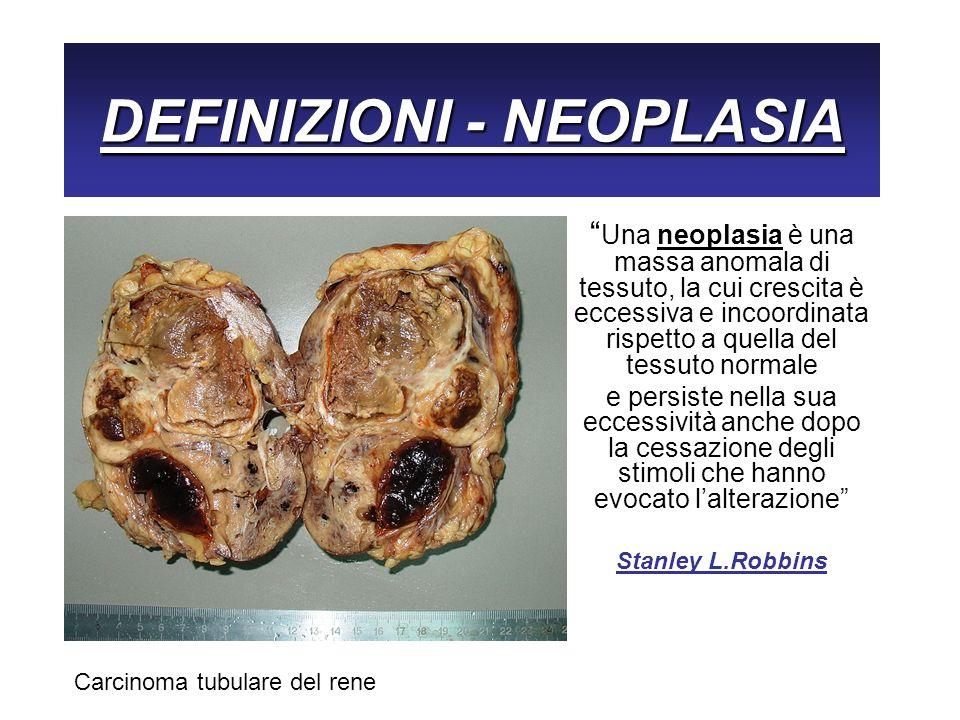 DEFINIZIONI - NEOPLASIA