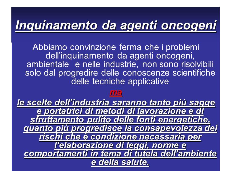 Inquinamento da agenti oncogeni