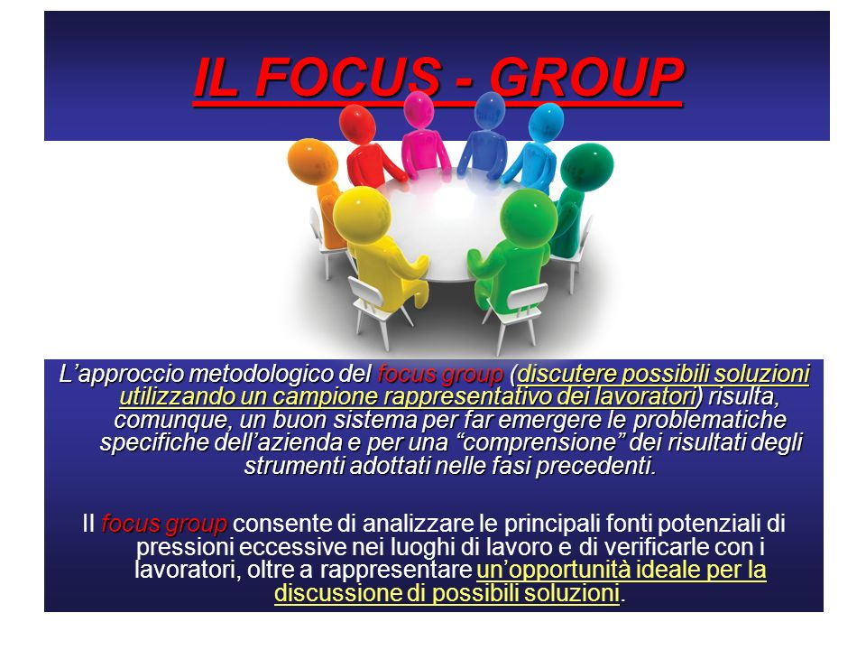IL FOCUS - GROUP