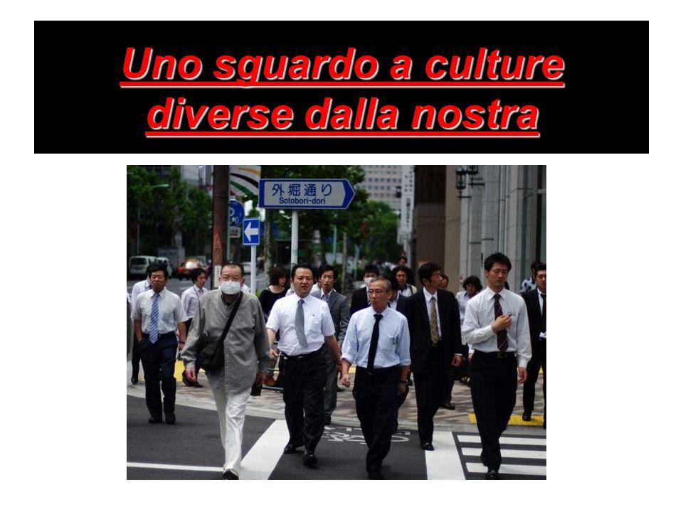 Uno sguardo a culture diverse dalla nostra