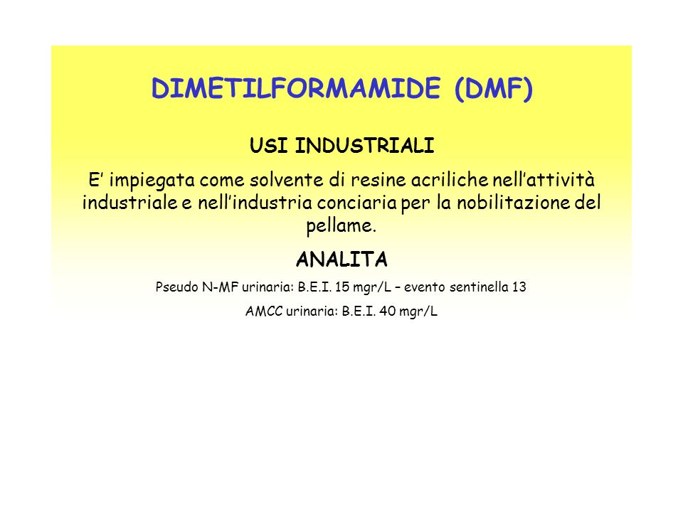 DIMETILFORMAMIDE (DMF)