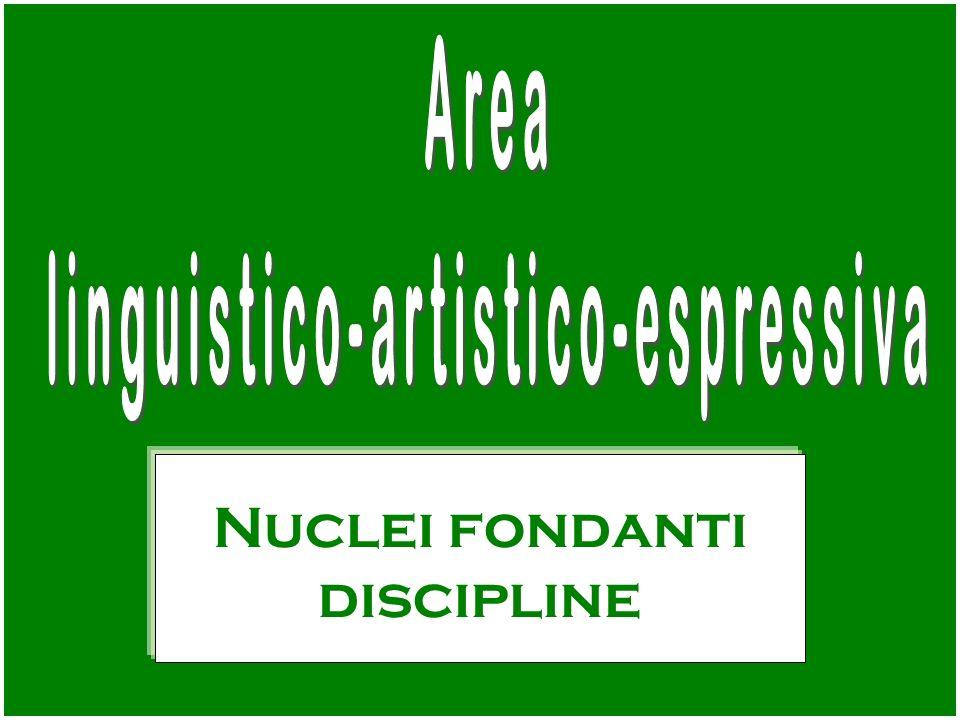 linguistico-artistico-espressiva