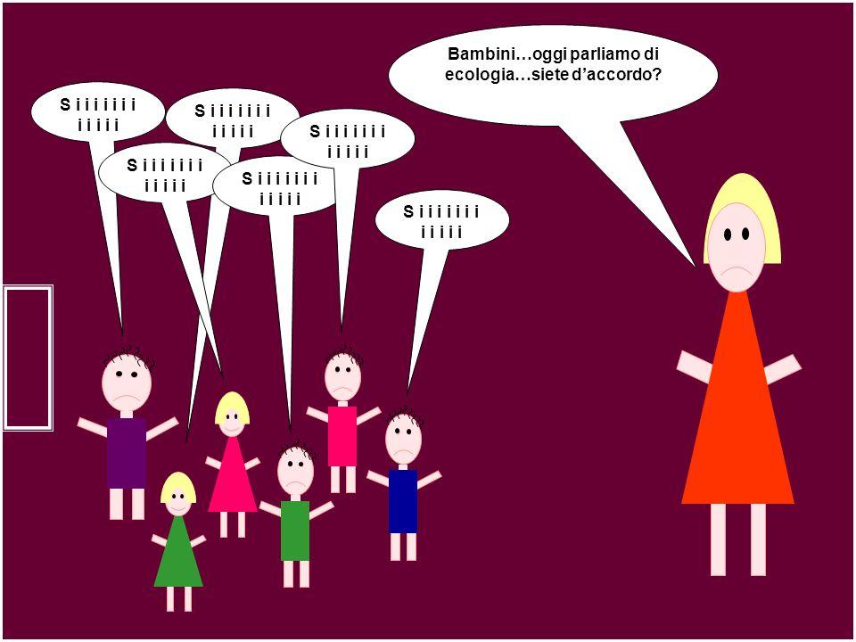Bambini…oggi parliamo di ecologia…siete d'accordo