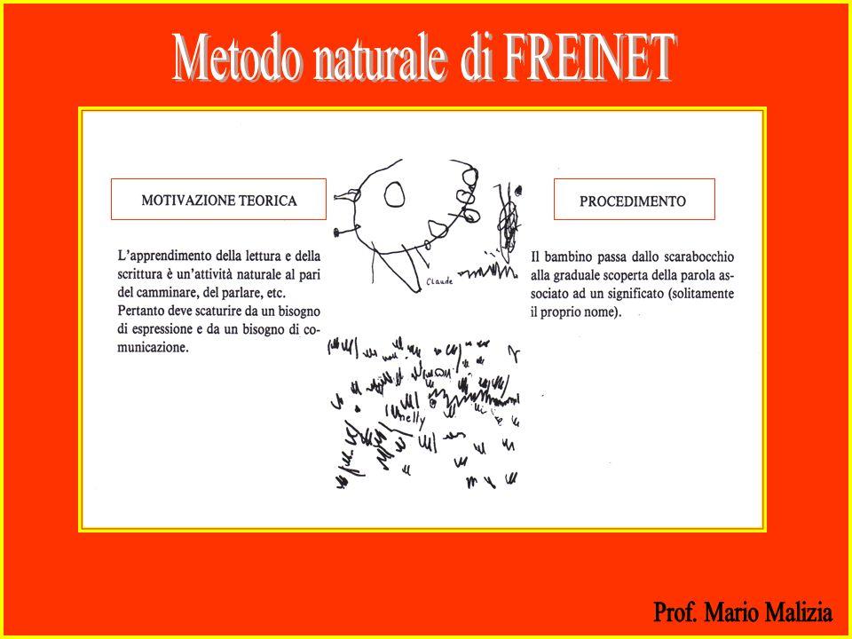 Metodo naturale di FREINET