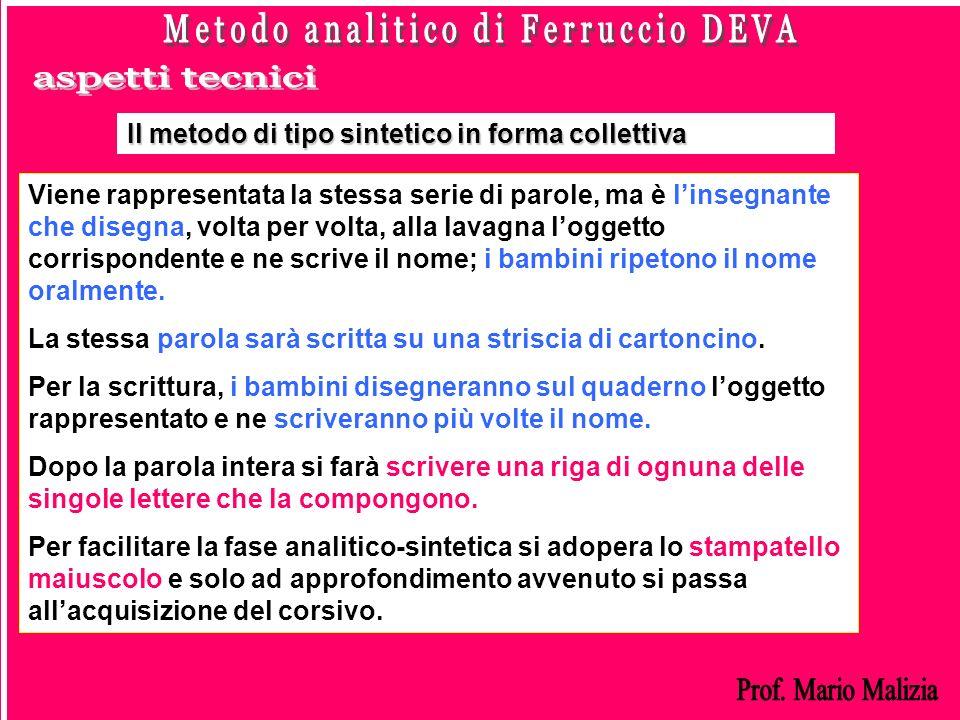 Metodo analitico di Ferruccio DEVA