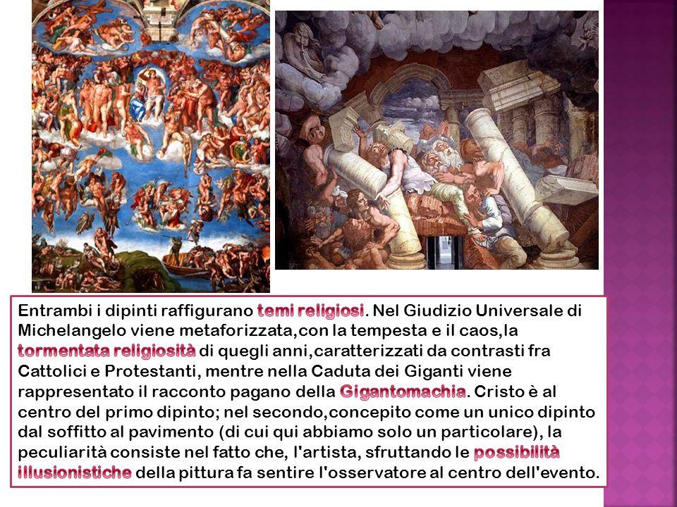 Entrambi i dipinti raffigurano temi religiosi