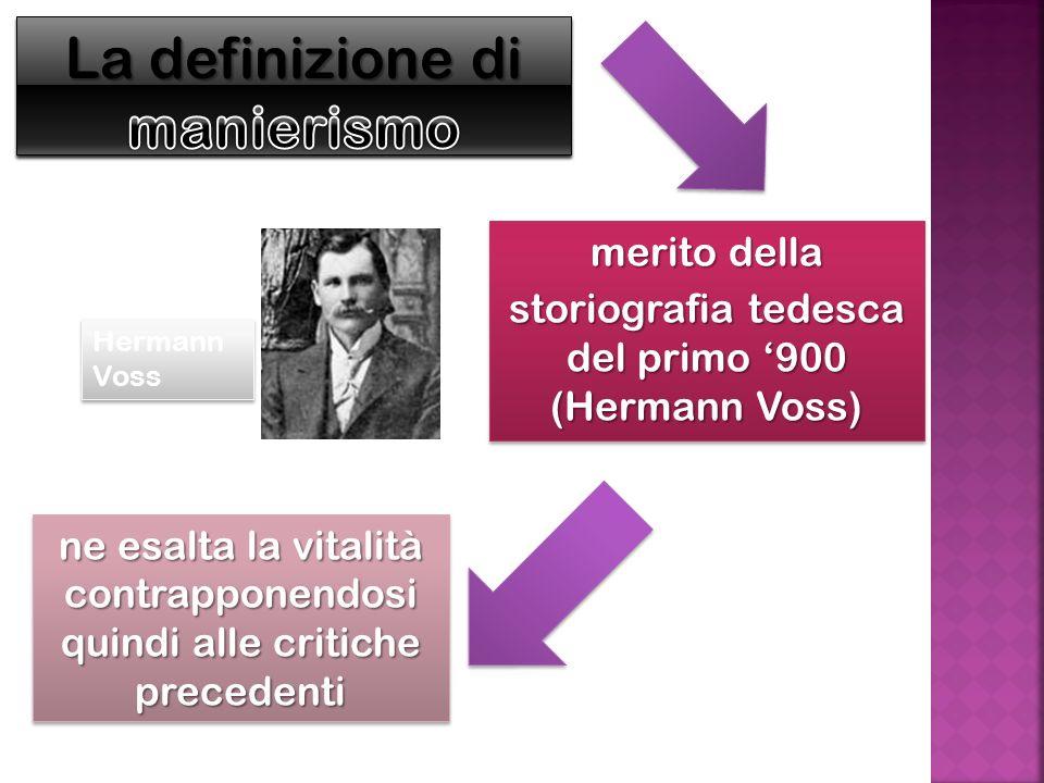 La definizione di manierismo