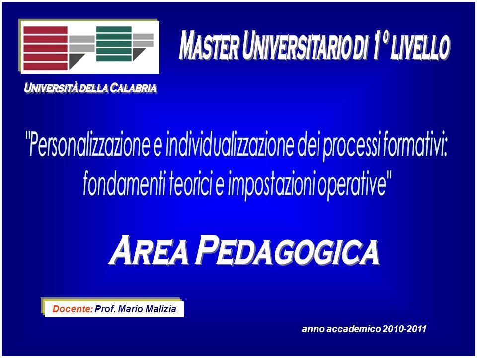 Master Universitario di 1° livello